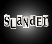 word-slander